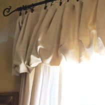 My how to sew a super fancy drop cloth tutorial is so ridiculously easy anyone can do it.