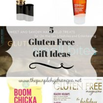 5 Gluten free gift ideas that are sure to be a hit with the gluten free person on your list.
