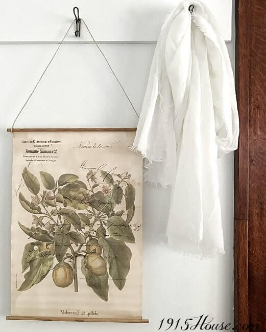 Add farmhouse style with a botanical wall hanging. A project from A Touch of Farmhouse Charm by Liz Fourez.