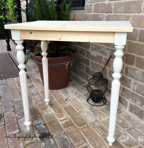 Creating a layered milk paint finish is so easy. Especially when you use Miss Mustard Seed's Milk Paint over raw wood.