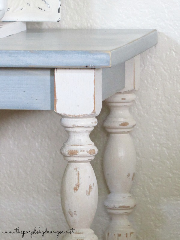 Creating a layered milk paint finish is simple. Mix, paint, sand, then seal and you are done.