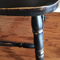 Black painted furniture can add a touch of drama to any style decor from traditional to farmhouse.