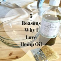 If loving hemp oil is wrong, then I don't want to be right. Come find out why it's my favorite sealant to use over milk pant.