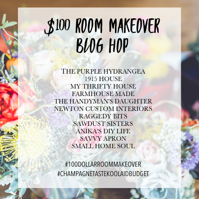 $100 Room Makeover Blog Hop