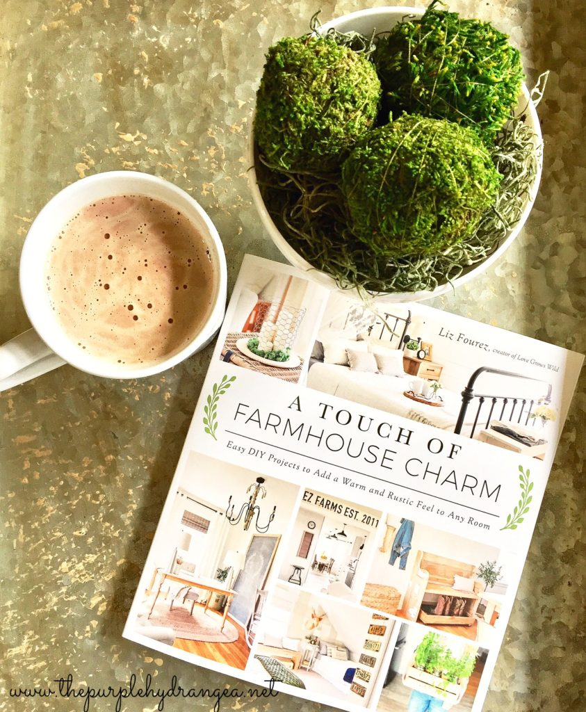 If you are looking for ways to add farmhouse style and charm to your home, then this is the book for you.