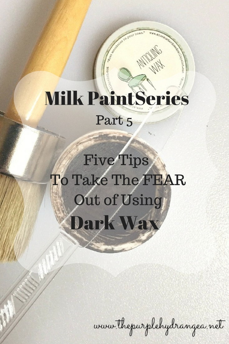 Using dark wax doesn't have to strike fear into your heart. I have 5 tips that will have you waxing fearlessly.