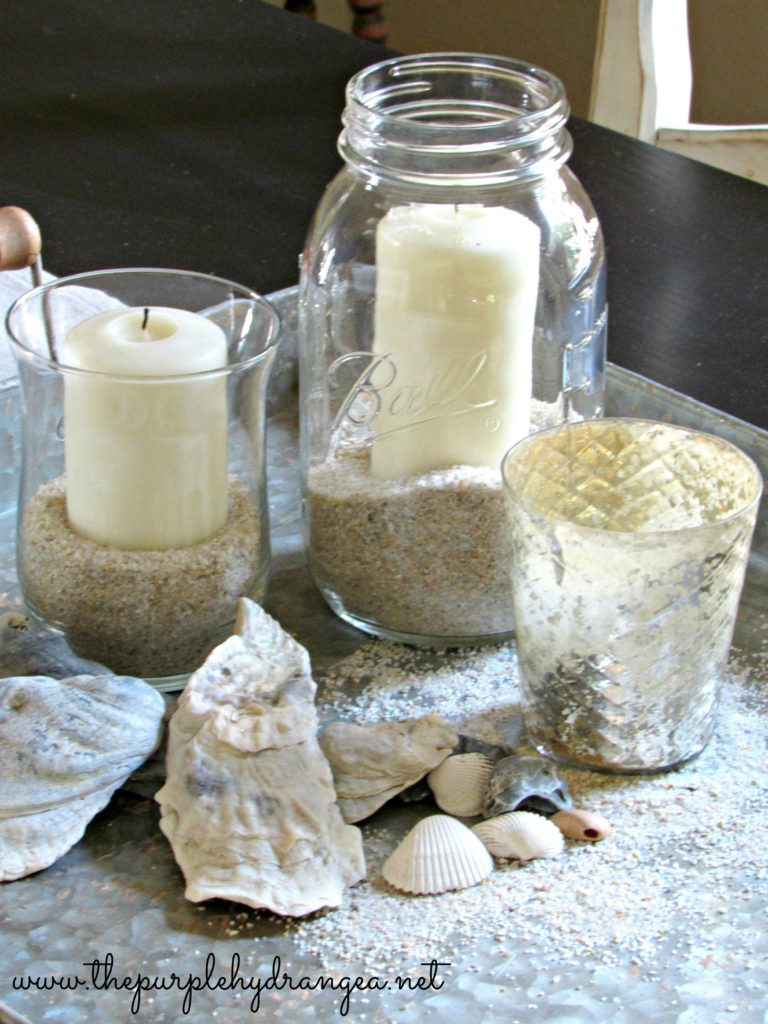 My simple summer mason jar candle is ridiculously easy and budget friendly.