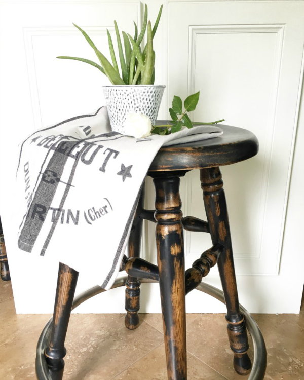 Black Painted Furniture by Honey n Hydrangea