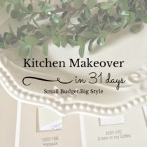 It's day 7 of my Kitchen Makeover in 31 days series and it's time to recap the first seven days.