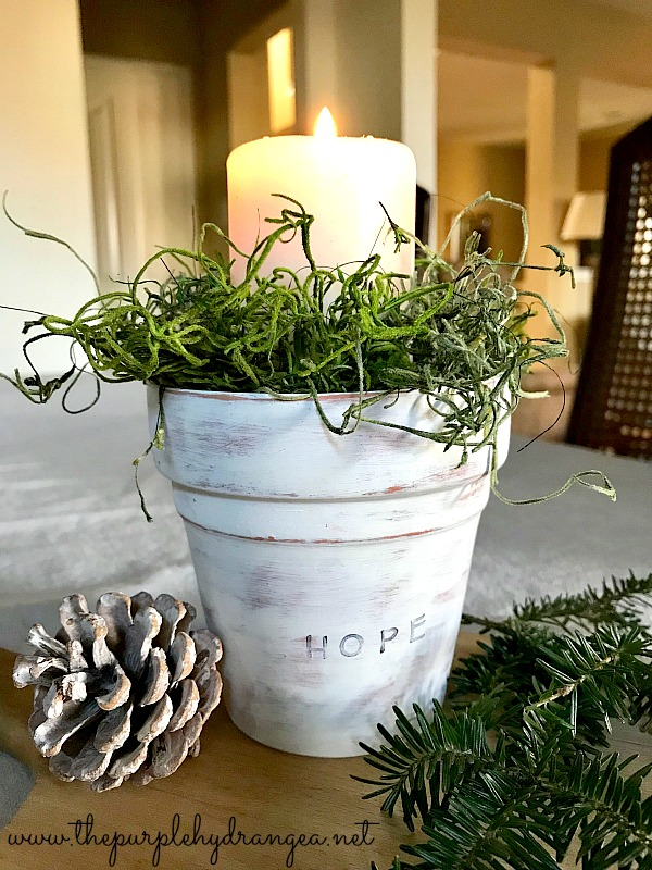 This year I am savoring a slower simpler Christmas season and it started this Advent candle.