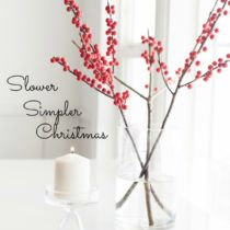 Are you craving a slower simpler Christmas season this year? Let's pinky promise to keep it simple sister friend.