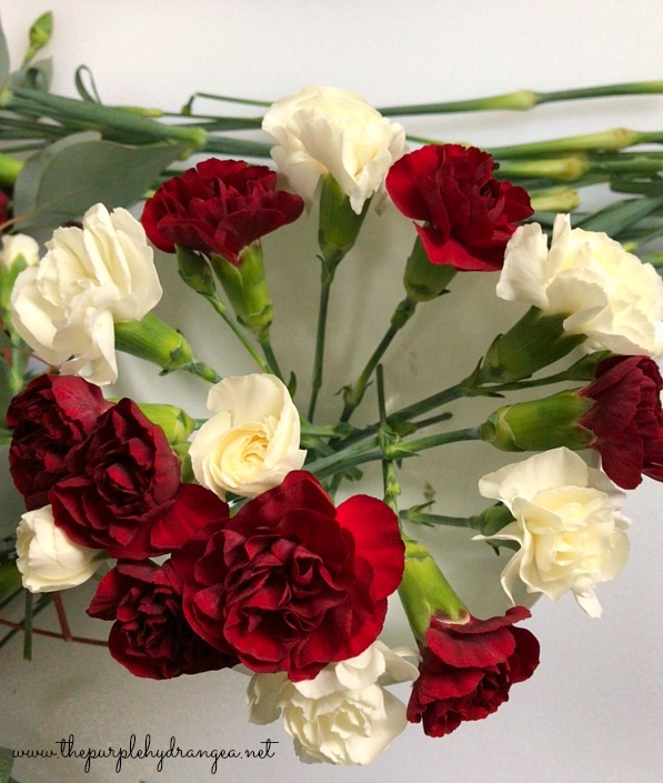 Let me show you how to create a carnation arrangement for under ten dollars. You can afford to treat yourself and friend.