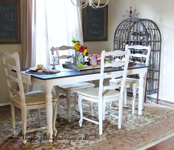 The $100 dining room makeover reveal is here. I've got lots of budget friendly ideas to give your space a fresh look.